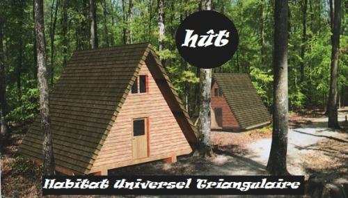 Images 1 10 la h t modulaire et originale for Habitat modulaire bois